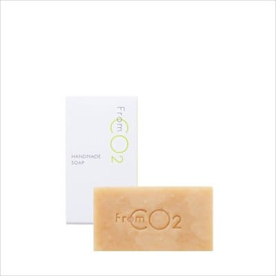 スキンケアジプシー救世主 炭酸美容 fromCO2 ハンドメイドソープ (枠練り石鹸)80g