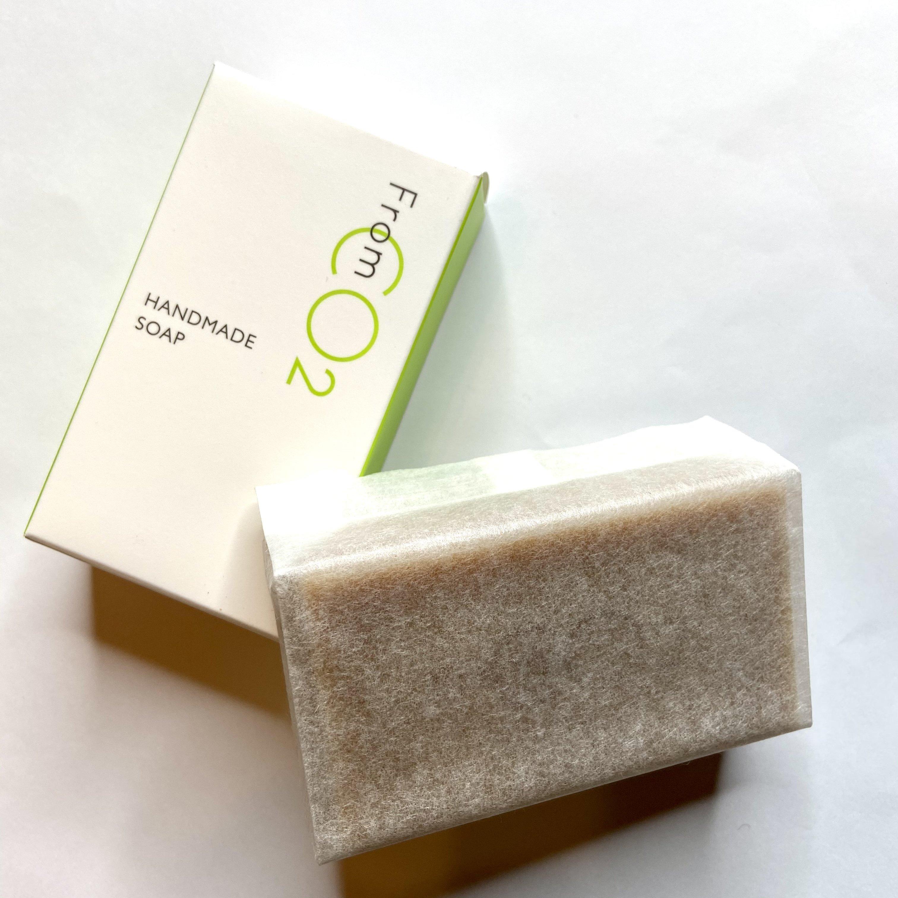 スキンケアジプシー救世主 炭酸美容 fromCO2 ハンドメイドソープ (枠練り石鹸)80g(サロン店頭)のイメージその3