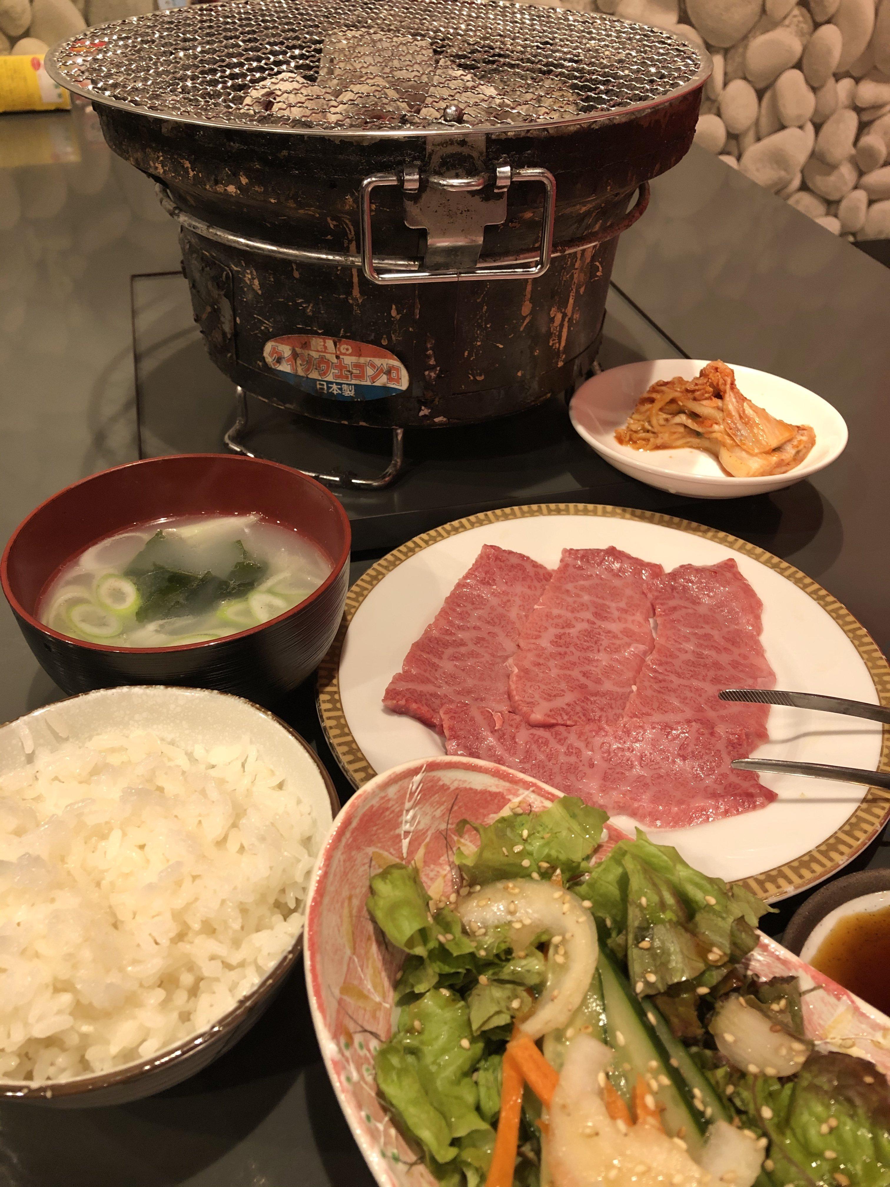 めい人気No.1ランチセット「和牛焼肉ランチセット」ライス・スープ1回おかわり無料!1日20食のイメージその1