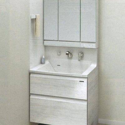 Takara standardホーロー洗面化粧台 エリーナ 間口75cm 施工費込み リフォーム商品プラン