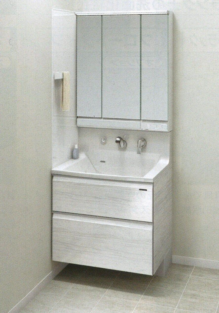 Takara standardホーロー洗面化粧台 エリーナ 間口75cm 施工費込み リフォーム商品プランのイメージその1
