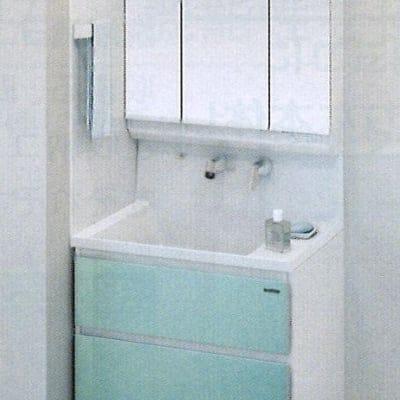 Takara standardホーロー洗面化粧台 ファミーユ 間口75cm 施工費込み リフォーム商品プラン