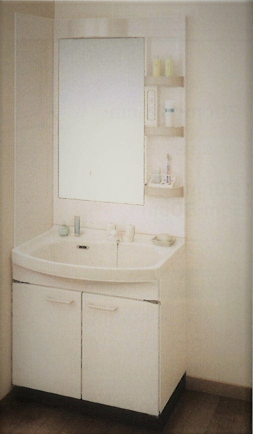 Takara standardホーロー洗面化粧台  スーリア 間口75cm 施工費込み リフォーム商品プランのイメージその1