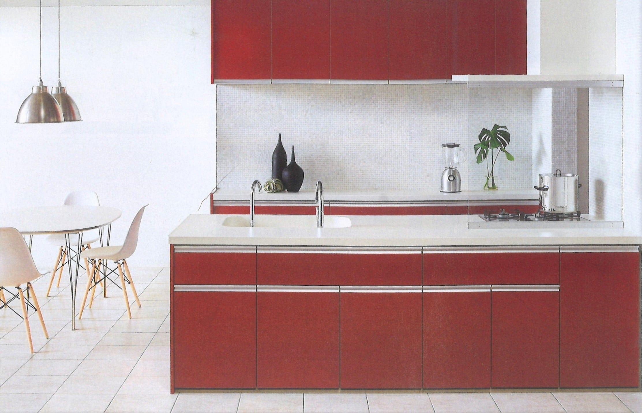 LIXIL オープン対面センターキッチン 鮫島工業施工費込み リフォーム商品プランのイメージその1