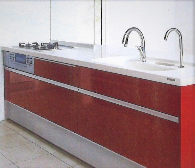 LIXIL オープン対面センターキッチン 鮫島工業施工費込み リフォーム商品プランのイメージその3