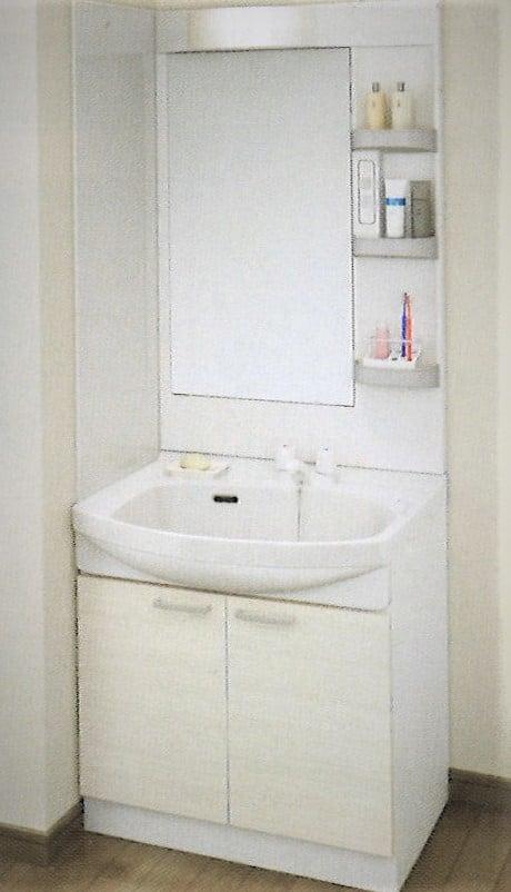 TakaraStandard 洗面化粧台 鮫島工業施工 間口75cm 施工費込 リフォーム商品プランのイメージその1