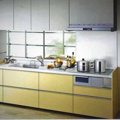 TOTO 造作対面キッチン 鮫島工業施工施工費込み リフォーム商品プラン