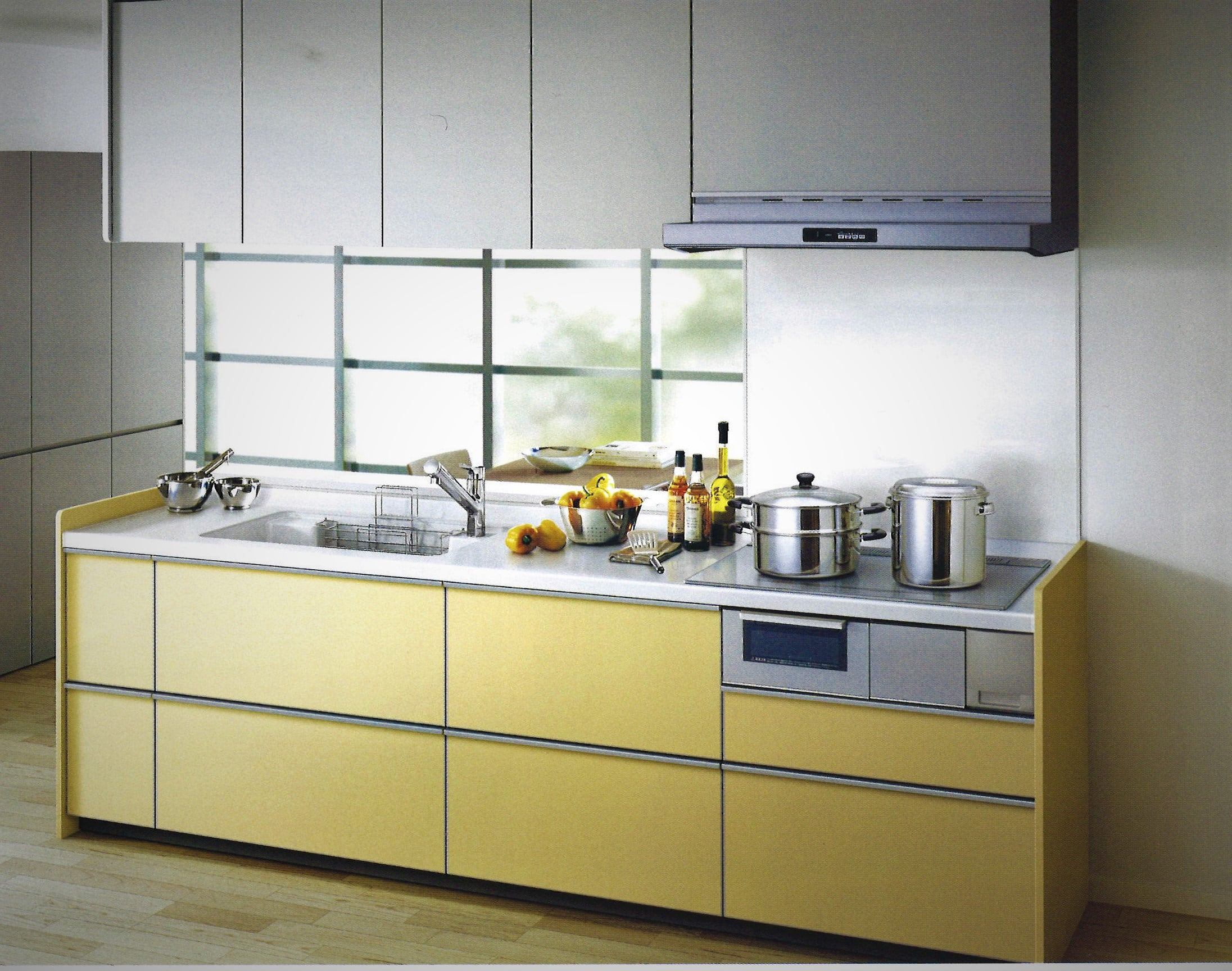 TOTO 造作対面キッチン 鮫島工業施工施工費込み リフォーム商品プランのイメージその1