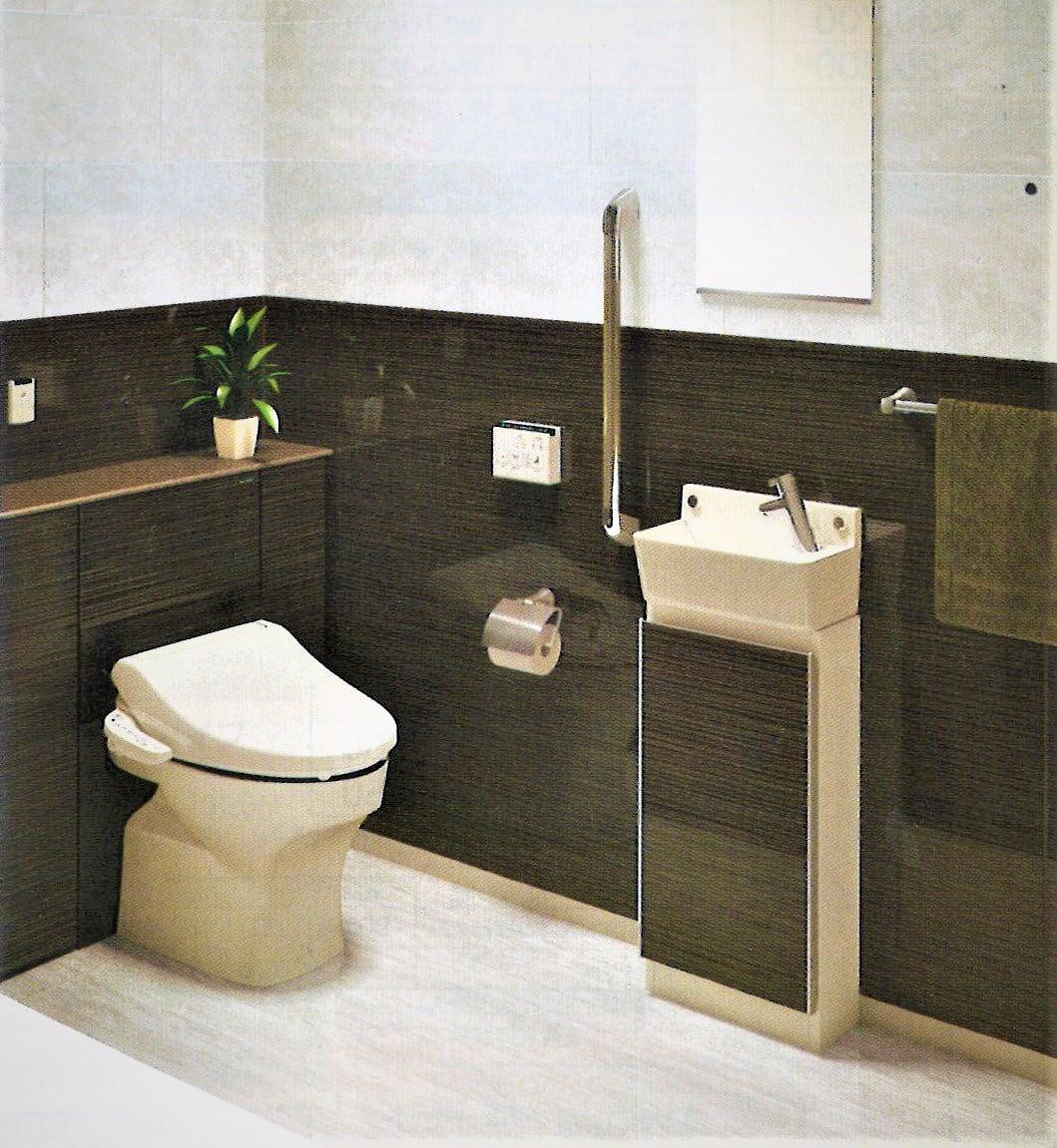 Takarastandard トイレ全面リフォーム 鮫島工業施工 ティモニCシリーズ 0.5坪 施工費込 リフォーム商品プランのイメージその1