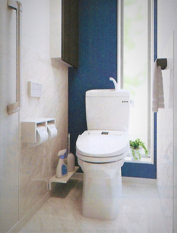 Takarastandard住宅用トイレ トイレの全面リフォーム ティモニBシリーズ 鮫島施工 0.5坪 リフォーム商品プランのイメージその1