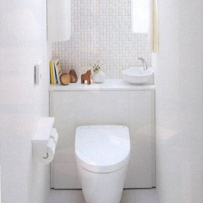 TOTO住宅用システムトイレ トイレの全面リフォーム 鮫島工業施工 0.4坪 施工費込 リフォーム商品プラン
