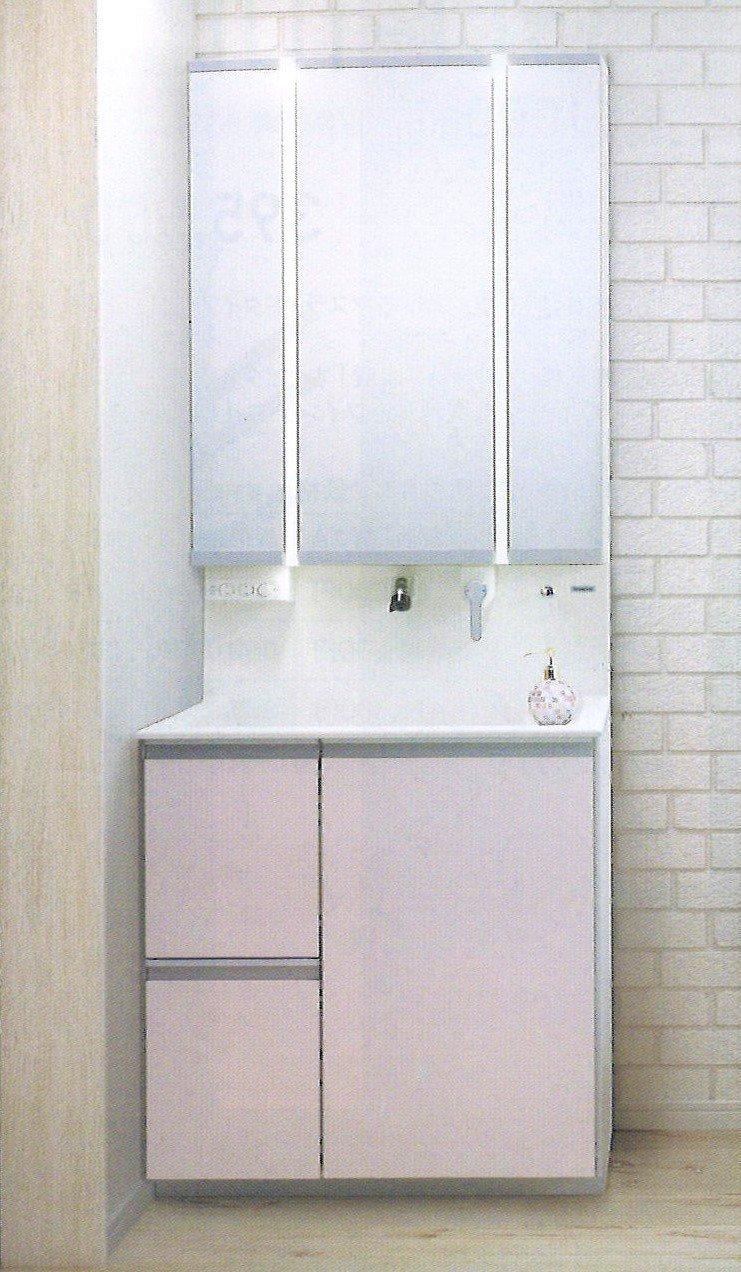 Panasonic ウツクシーズ洗面化粧台 鮫島工業施工 洗面化粧台のリフォーム商品プランのイメージその1
