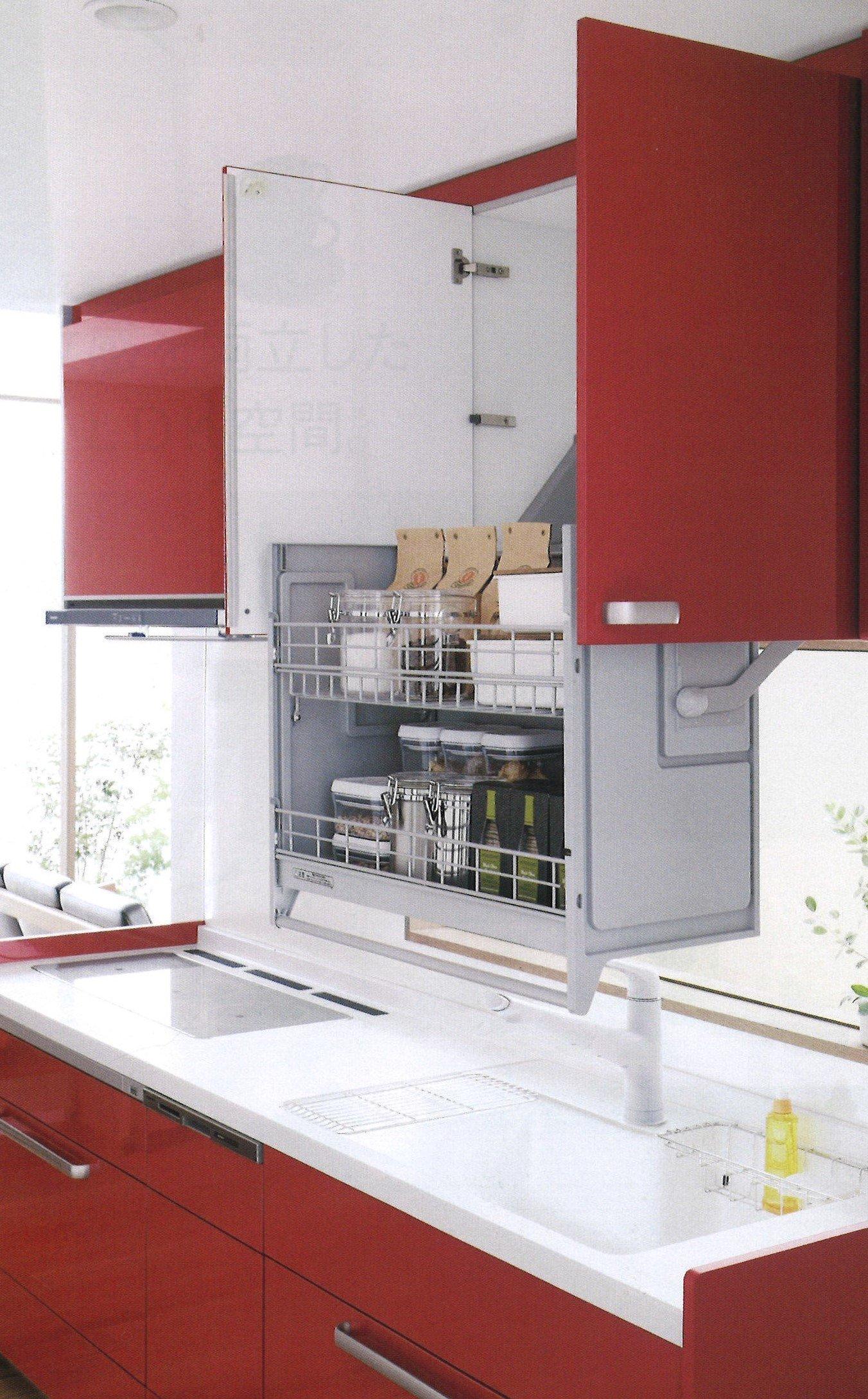 Panasonic システムキッチン 吊戸棚で使い勝手をアップした壁付けキッチンのリフォーム商品プラン 鮫島工業施工のイメージその2