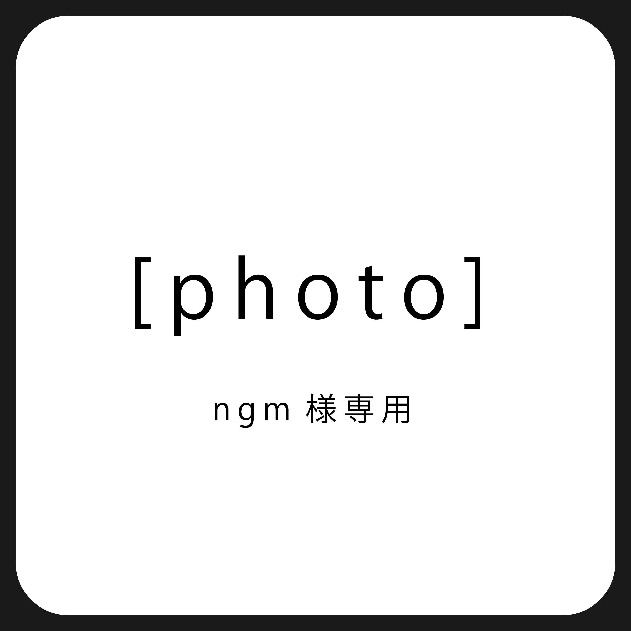 [photo]ngm様専用のイメージその1