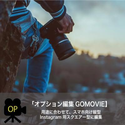 【オプション編集GOMOVIE】縦型・スクエア―編集