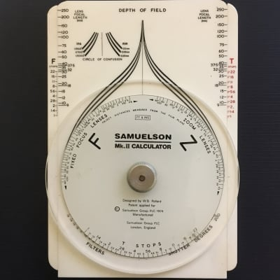SAMUELSON MK2 CALCULATOR