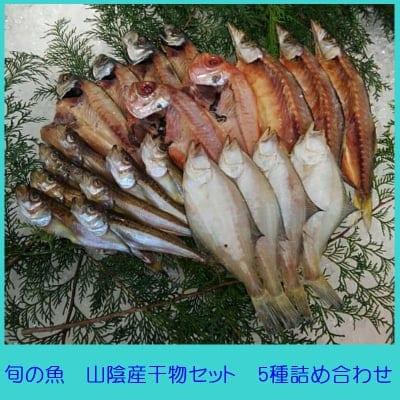 旬の魚を食卓へ山陰産干物セット5種詰め合わせ