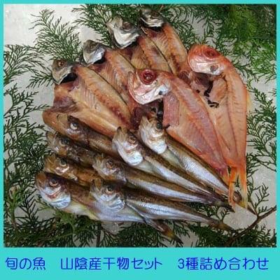 旬の魚を食卓へ山陰産干物セット3種詰め合わせ