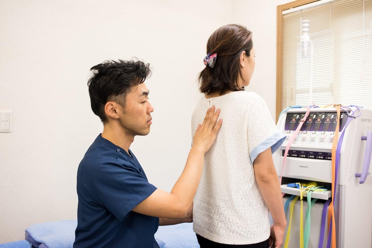 ギックリ腰治療のイメージその1