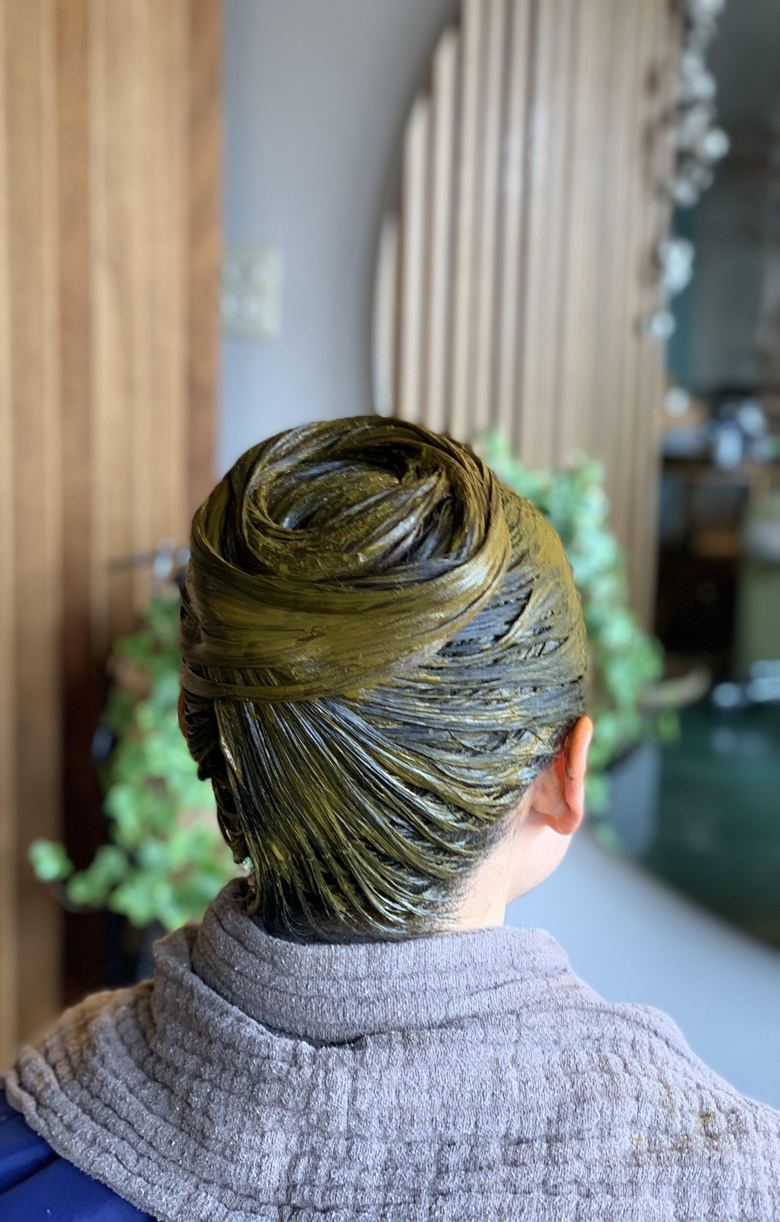 [重ねるたび綺麗な髪 ]カット+ヘナカラー(シングル)6週間サイクルのイメージその2