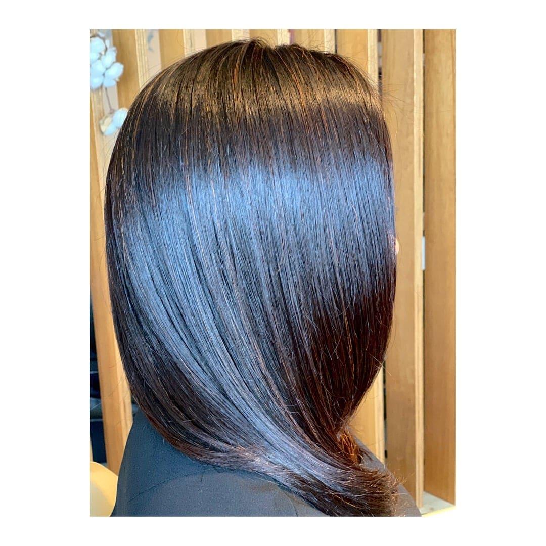 [重ねるたび綺麗な髪 ]カット+ヘナカラー(シングル)6週間サイクルのイメージその1