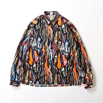 【Iroquois/イロコイ】DEADHEADS SH / ボックスカット ビッグシャツ / 380102