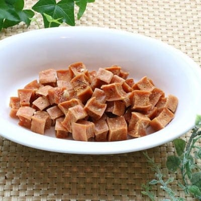 ペットフード わんちゃん、ねこちゃん大好き、国産ささみ&チーズダイス