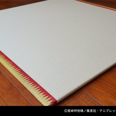 煉獄杏寿郎デザイン/鬼滅の刃シリーズ公式置き畳/82センチ×82センチ...