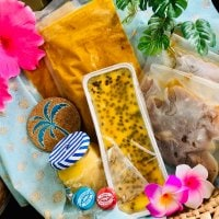今だけ10セット限定❗️ハワイボスの丸ごとハワイをお届け🌺夏のギフトセット 10セット🌺 (パッションフルーツケーキ、リリコイバター、スパイシーココナツカレー、肉肉しいハンバーグ、ハワイアン小物)