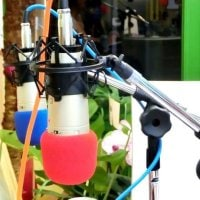 ラジオ出演券