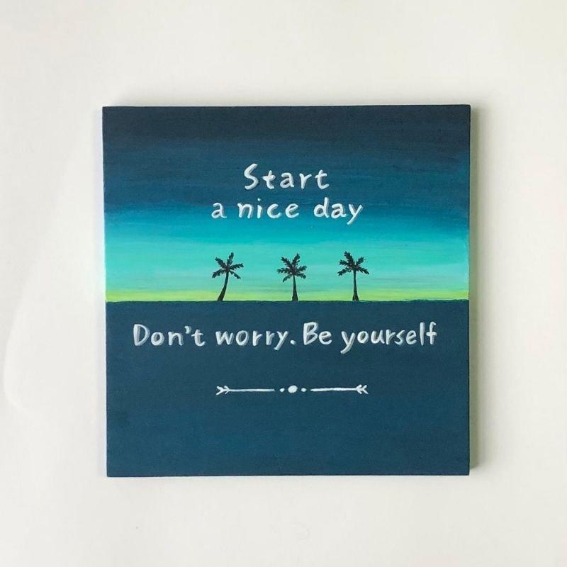 Be yourself|インテリアボード(エンタメ酒場NRGでのご購入専用)のイメージその1
