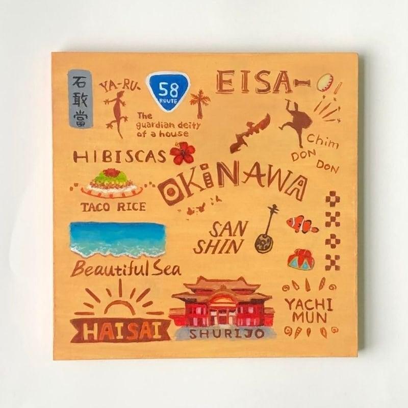 OKINAWA BOX インテリアボード(エンタメ酒場NRGでのご購入専用)のイメージその1