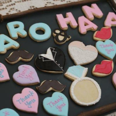 アイシンングクッキー*ウェディングセット【沖縄県内送料無料】【高ポイント500P】