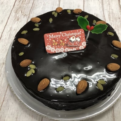 【店頭受け取りのみ】濃厚チョコレート6号18cm*クリスマスケーキ