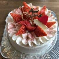 【店頭受け取りのみ】たっぷりいちごショートクリスマスケーキ4号12cm