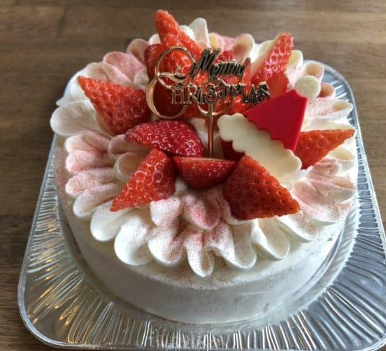 【店頭受け取りのみ】たっぷりいちごショート5号*クリスマスケーキのイメージその1