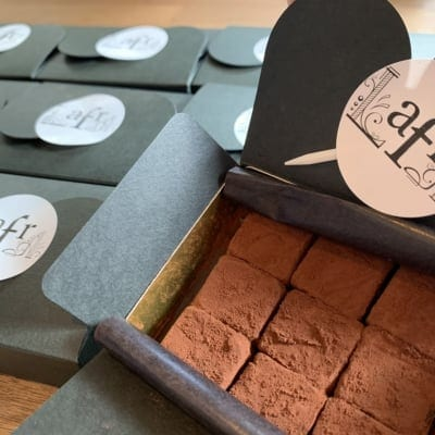 生チョコレート(1箱9粒入り)4箱セット【要冷蔵】店頭受け取りOK
