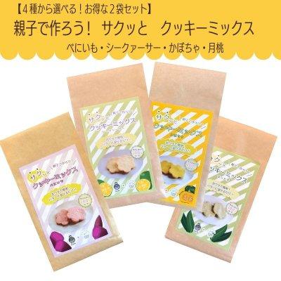お得な選べる2種セット★ 親子で作ろう サクッとクッキーミックス(べ...