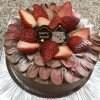【店頭受け取りのみ】たっぷりいちご生チョコショートクリスマスケーキ 5号15cm