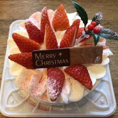 【店頭受け取りのみ】たっぷりいちごショート5号15cm *クリスマスケーキ