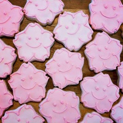 〈アイシンングクッキー〉【さくら】20枚