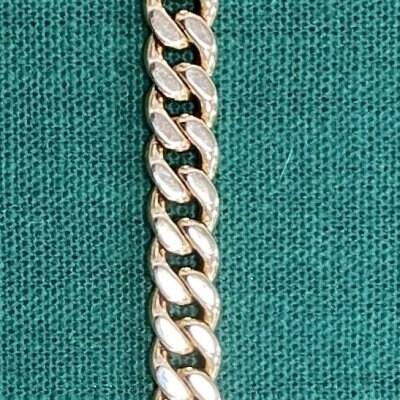 2/2 H exclusive K18bracelet 20cm 39.9g