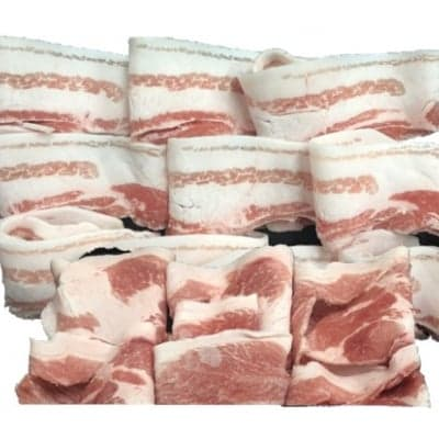 【送料無料】おきなわブランド豚 金アグー ウデ肉・バラ肉のセット(冷凍)