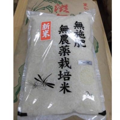 【新米】 無施肥 無農薬栽培 滋賀県沢さんのコシヒカリ 量り売り1kg