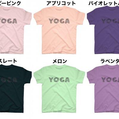 YOGAシルエットTシャツ(ブラック)
