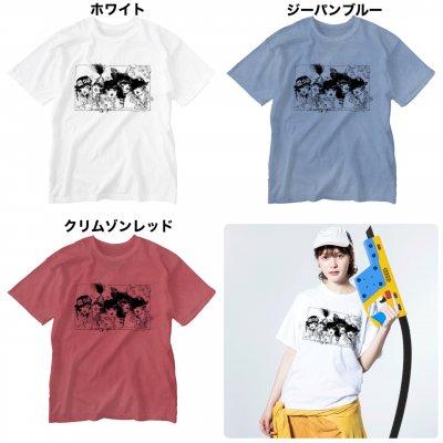 クラシックガールズ(ショーガール)ウォッシュTシャツ