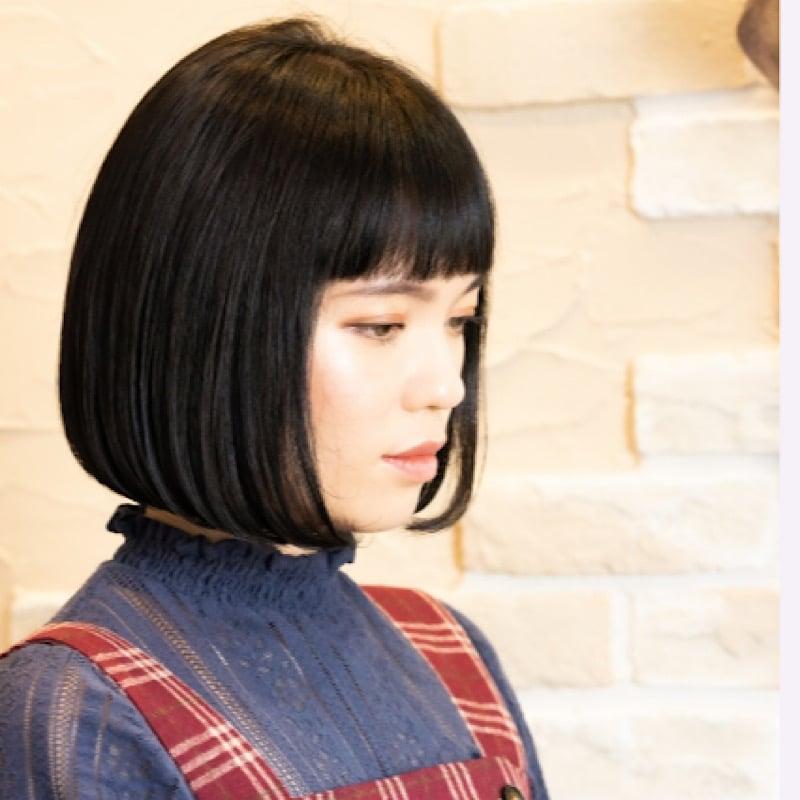 【現地払い限定】【Rezo】デトックス・縮毛矯正・ショート(カット・トリートメント込み)のイメージその1