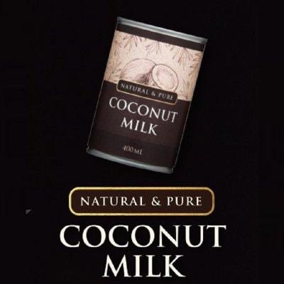 ココナッツミルク6缶【美容ミルク・ダイエット・中佐脂肪酸】フレッシュタイプ 完全無添加