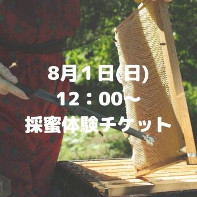 【8月1日12:00〜】ハチミツ絞り体験チケット ★お土産付き★