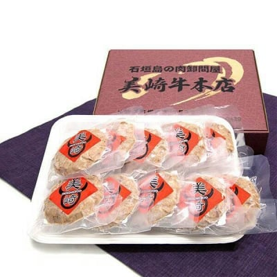 美崎牛ハンバーグ 1.0kg【100g×10個入り】